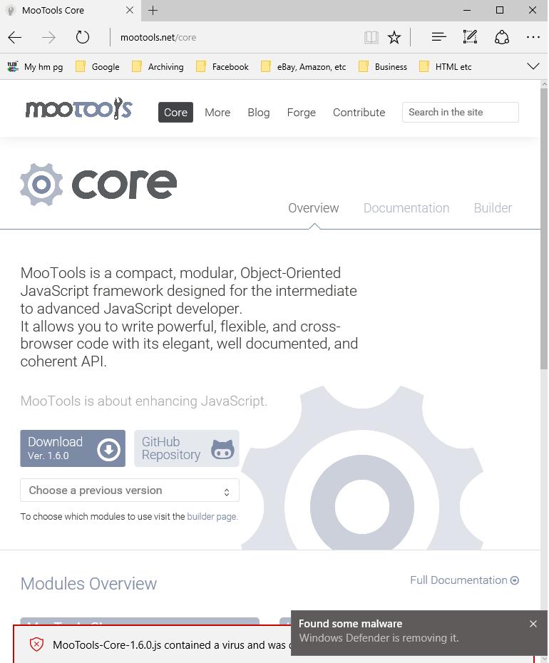 Windows Defender false positives - Microsoft Community